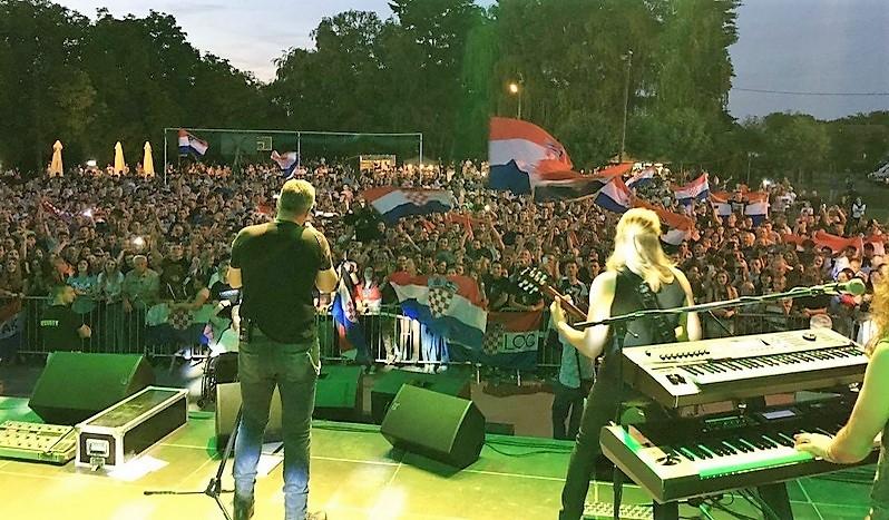Thompson priredio spektakl na humanitarnom koncertu u Rovišću